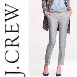 J.Crew Women's Cafe Capri Pants in Gray Size 6